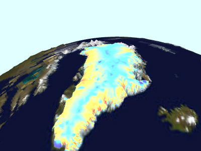 Greenland Ice/Bed Conditions