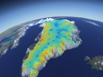 Ice Retreat Over Southwestern Greenland During The Last 12,000 Years