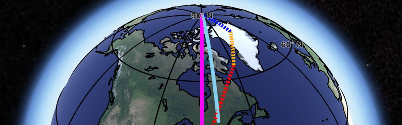 slide 4 - Scientists ID three causes of Earth's spin axis drift