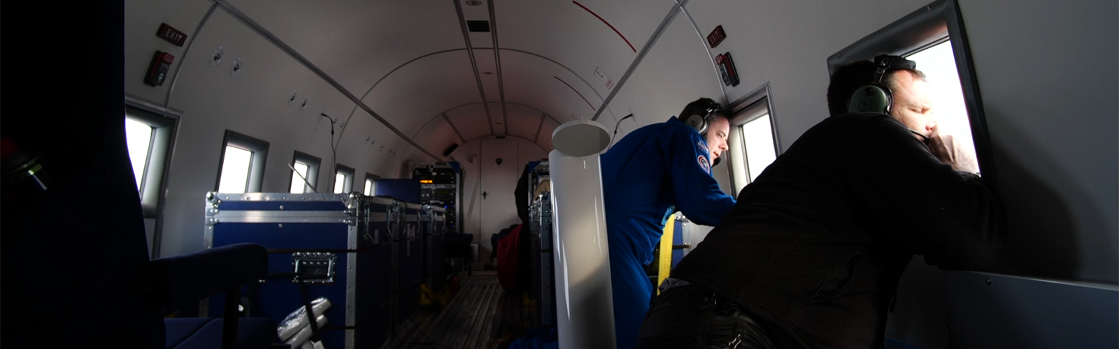 slide 3 - Finding open water in Greenland's icy seas