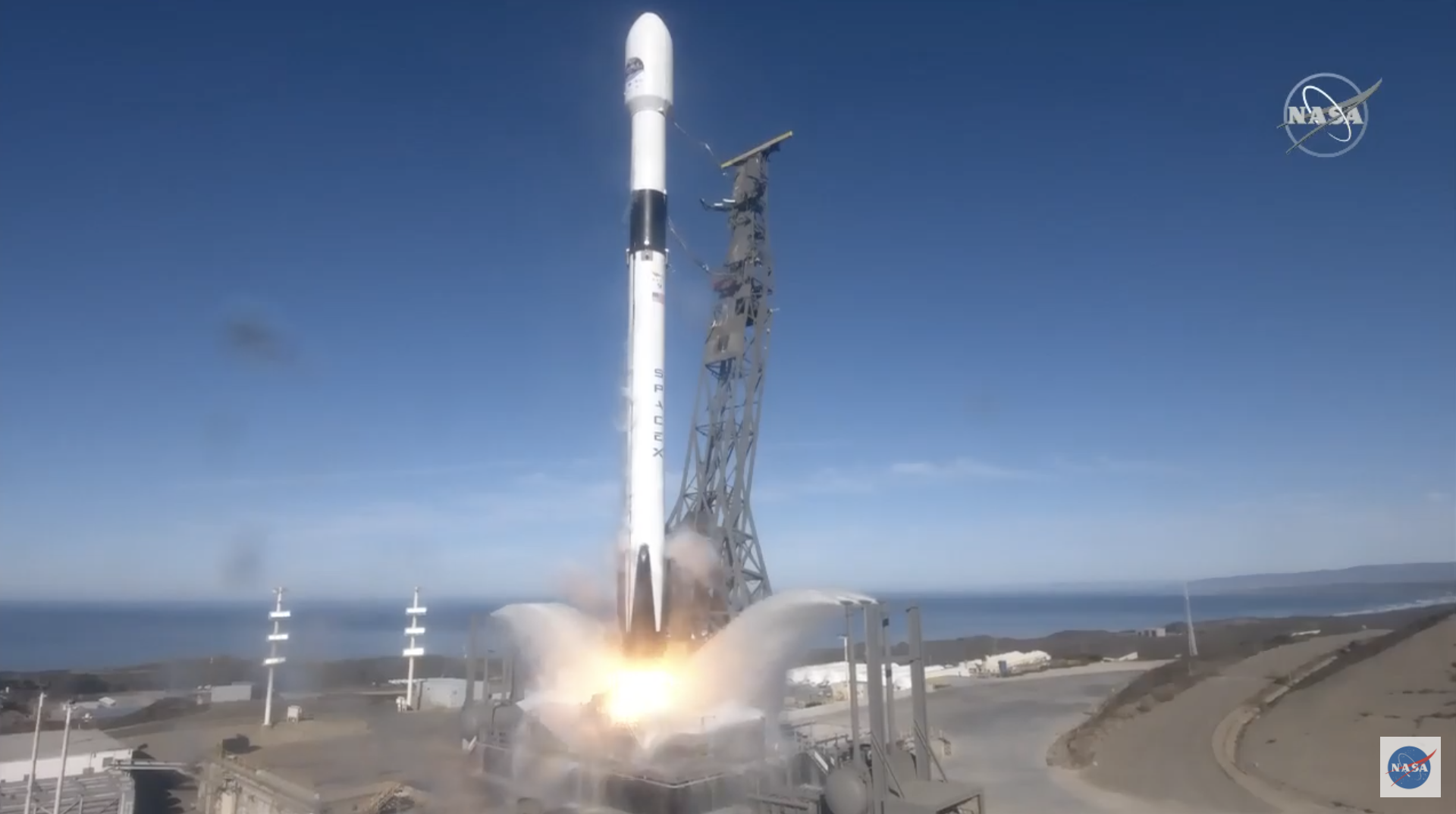 slide 1 - Sentinel-6 Michael Freilich launches on a Space X Falcon 9