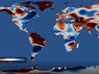 NASA satellites reveal major shifts in global freshwater