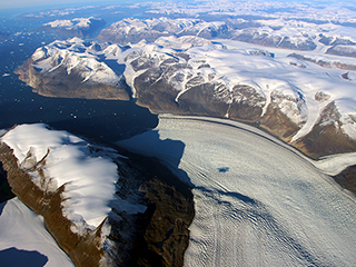 NASA discovers a new mode of ice loss in Greenland