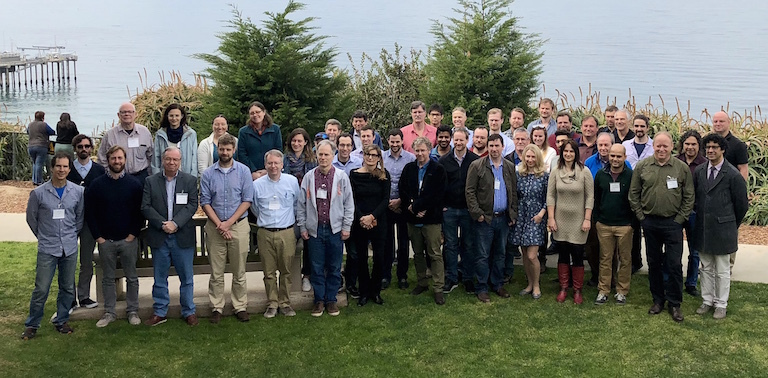 The new NASA Sea Level Change Team during March meeting in La Jolla, California. Image credit: Steve Nerem.